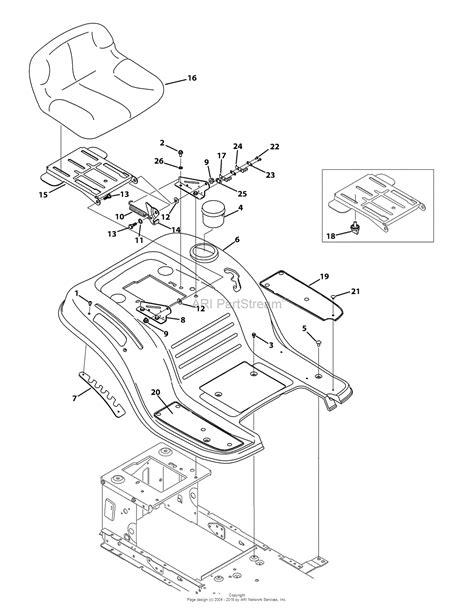 troy bilt bronco transmission belt diagram troy bilt 13wv78ks011 bronco 2015 parts diagram for seat