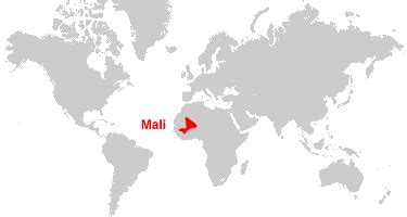 where is mali on the world map mali map and satellite image