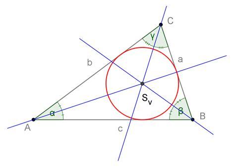 angoli interni di un triangolo cerchio e circonferenza openprof