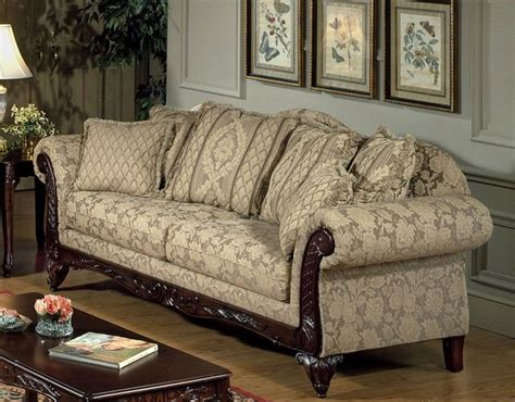 in style sofas serta kelsey victorian style sofa in clarissa carmel
