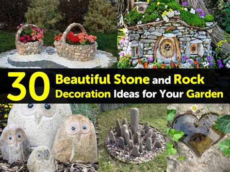 garden of decoration 30 beautiful and rock decoration ideas for your garden