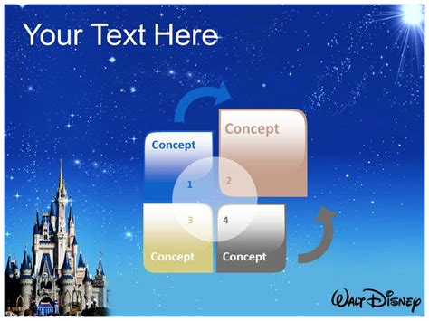Disney World Powerpoint Template Powerpoint Background Powerpoint Slides Disney Powerpoint Template Free