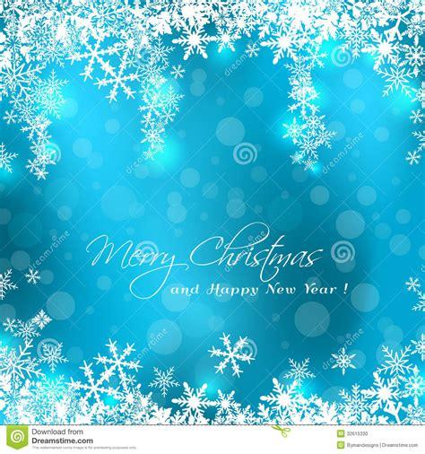 merry christmas blue card stock vector illustration  magical