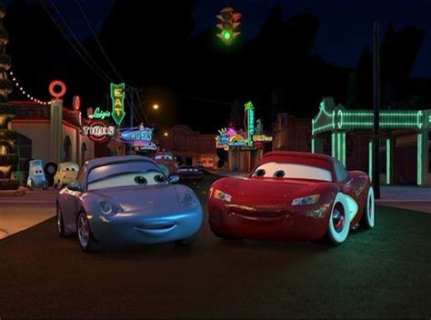 cars sally and lightning mcqueen kiss disney s couples images lightning mcqueen and sally hd