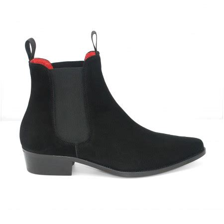 Sale Sepatu Original Moofeat Boot Zipper Tracking Black classic boot black suede classic boots boots