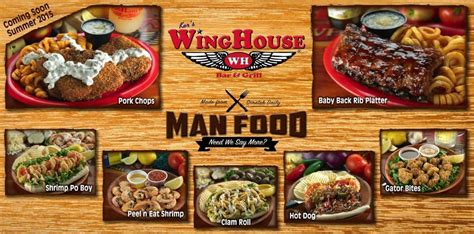 Wing House Menu by Winghouse Bar Grill 15 Photos Chicken Wings