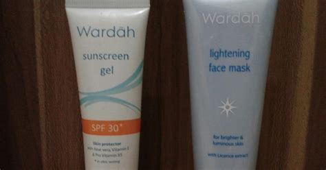 Harga Wardah Step 1 Kemasan world another wardah sunscreen gel spf 30