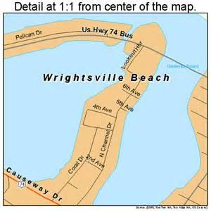 map carolina beaches wrightsville carolina map 3775820