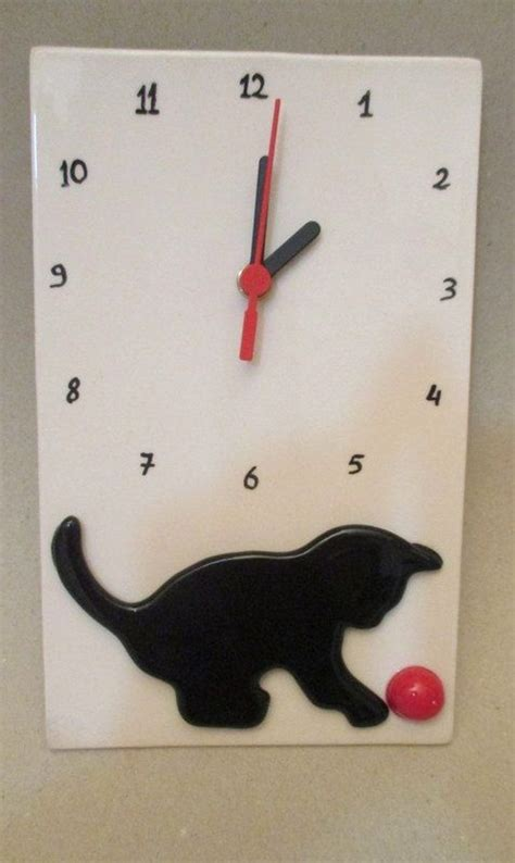 Handmade Ceramic Wall Clocks - 1000 images about ceramic clocks on