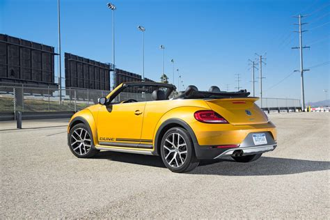 volkswagen beetle convertible 2017 volkswagen beetle dune convertible test review