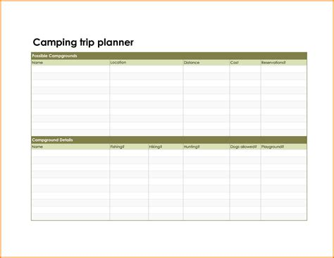 travel planner template travel planner template authorization letter pdf
