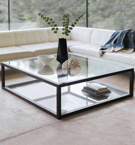 Cono Square Coffee Table the apollo large impactful coffee table tom faulkner