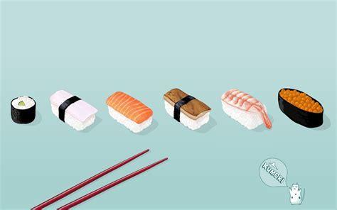 Sushi Fond d'écran and Arrière Plan   1440x900   ID:46709