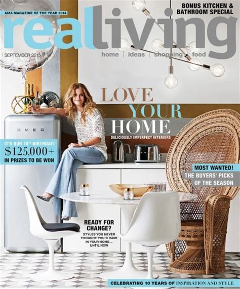 the dl edit interior design magazines real living