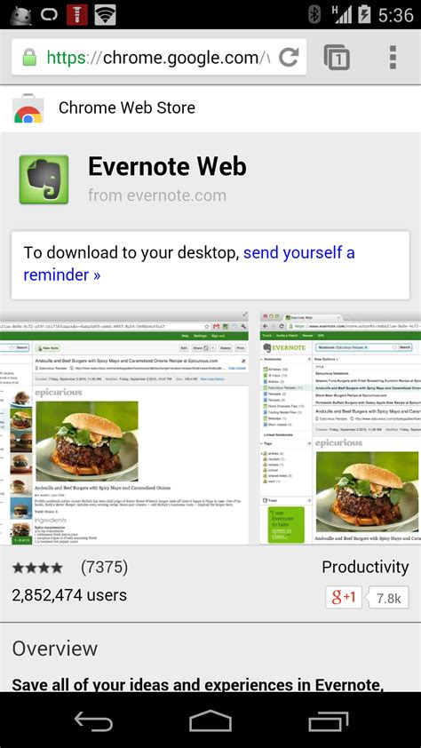 chrome web store android chrome web store now linking to android versions of chrome