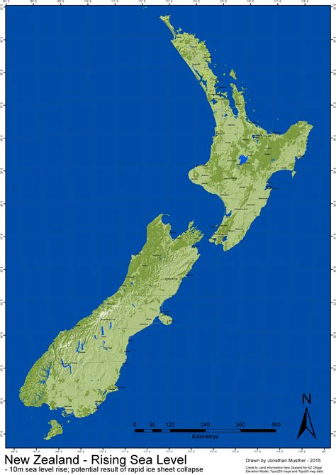 new zealand map high resolution