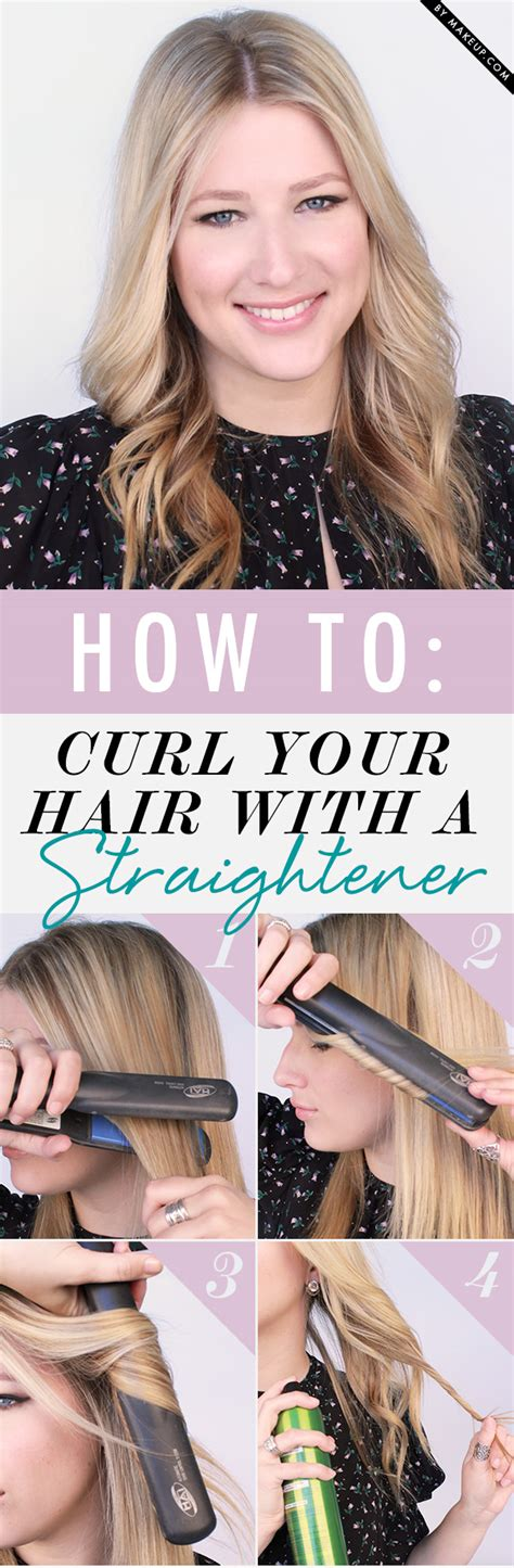 curl your hair with straighteners fashion of luxury how to curl your hair with a straightener