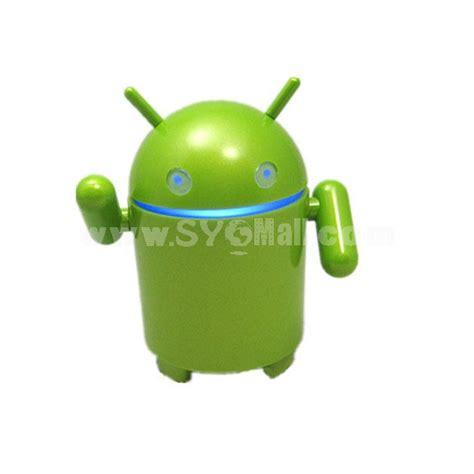 android speaker android robot shaped usb speaker sygmall