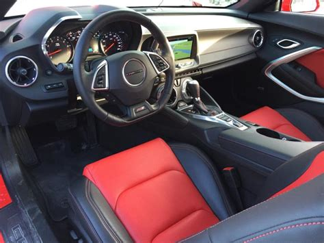 Camaro Interior Colors by Review 2016 Chevrolet Camaro Ss Ny Daily News