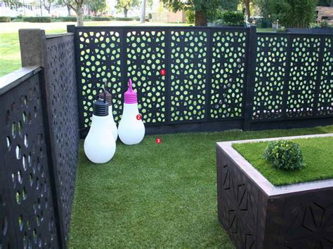 Screen Ideas For Backyard Privacy by Outdoor Black Outdoor Privacy Screen Ideas Outdoor