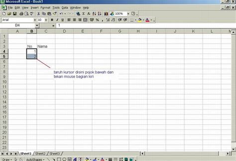cara membuat nomor halaman urut di excel panduan singkat membuat nomor urut di excel