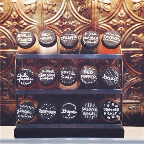 diy chalkboard spice rack gold feathers adventures inspiration and other lovely things diy chalkboard lids for spice