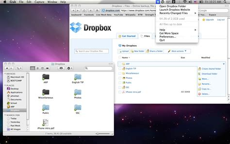 dropbox app for mac living in the cloud the mac scientist