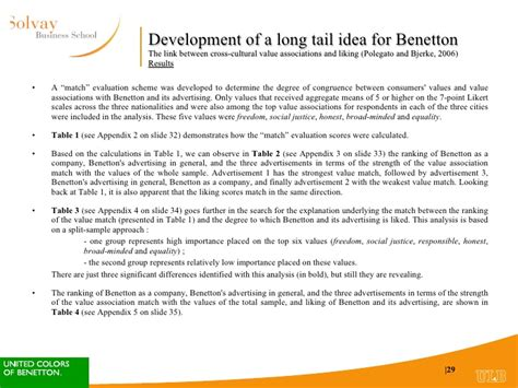 long tail theory contradicted as study reveals the times case study benetton