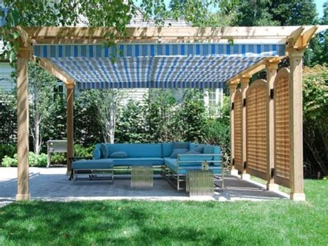 Roof Terrace Ideas Diy Retractable Pergola Shade Canopy Diy Pergola Canopy
