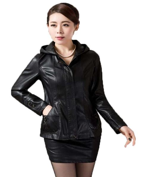 New Leather by Plus Size Leather Jacket 2016 New Leather Coat