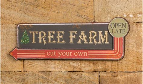 tree farm cut your own christmas tree sign