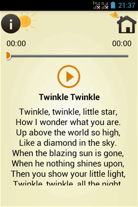 kids song with lyrics free apk android app android freeware