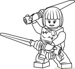 color sheet ninjago nya coloring page free lego ninjago coloring