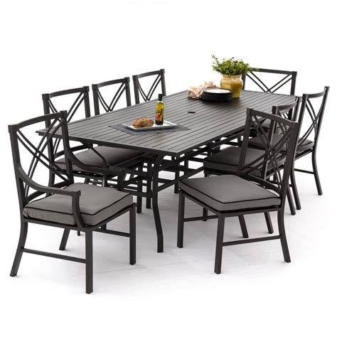 patio furniture dining sets aluminum patio dining set