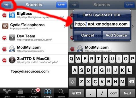 best game mod cydia sources useful hacks and tricks