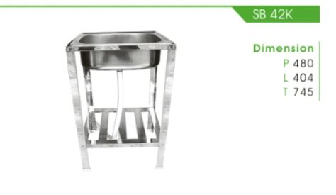 Kitchen Sink Royal Sb 1pk kitchen set royal detil produk sb 42 k royal sink fortuna alumunium tirta stainless steel