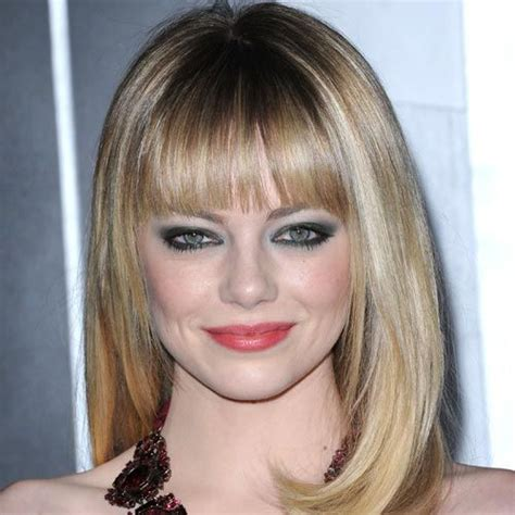 hairstyles with chunky bangs big fan of the chunky bangs short hairstyle 2013