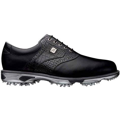 footjoy dryjoys tour golf shoes black crocodile color