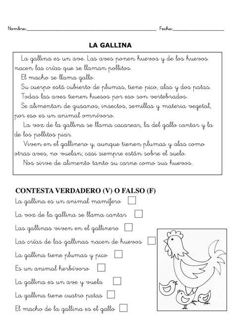 lectura y redaccin ejercicios y teora sobre lengua espaola nuevas fichas de comprensi 243 n lectora fichas de lengua