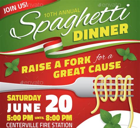 36 Fundraiser Flyer Templates Psd Eps Ai Word Free Premium Templates Spaghetti Dinner Fundraiser Flyer Template