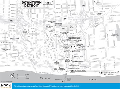 printable detroit area map 503 service unavailable