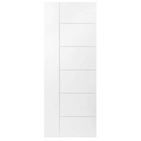 Berkley Interior Doors Masonite 30 In X 84 In Berkley Primed Solid Interior Barn Door Slab 82666 The Home Depot
