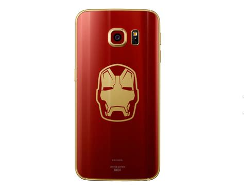theme samsung s6 edge iron man limited edition iron man galaxy s6 edge is official