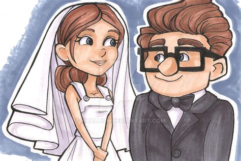 imagenes de up carl y ellie carl and ellie by khallion on deviantart