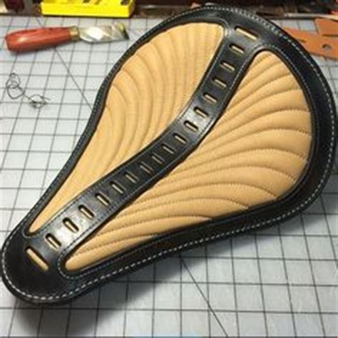 motorcycle seat upholstery diy 1000 images about bikes on bobbers chopper