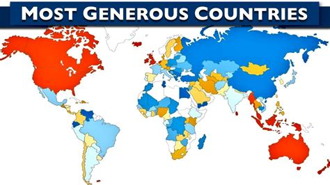 A World Of Candids Nation 10 by World S 10 Most Generous Countries