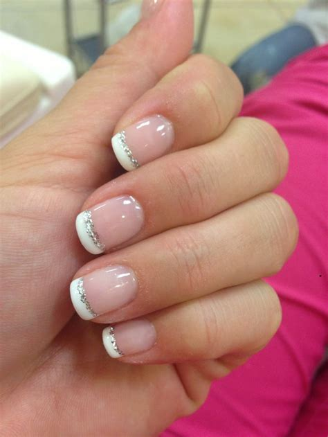 colored tips colored tip nails manicure prom