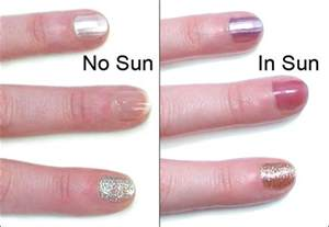 ultraviolet color light color uv color changing nail