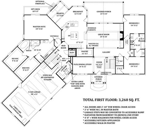 Universal Home Design Floor Plans by Universal Design House Plans House Plans