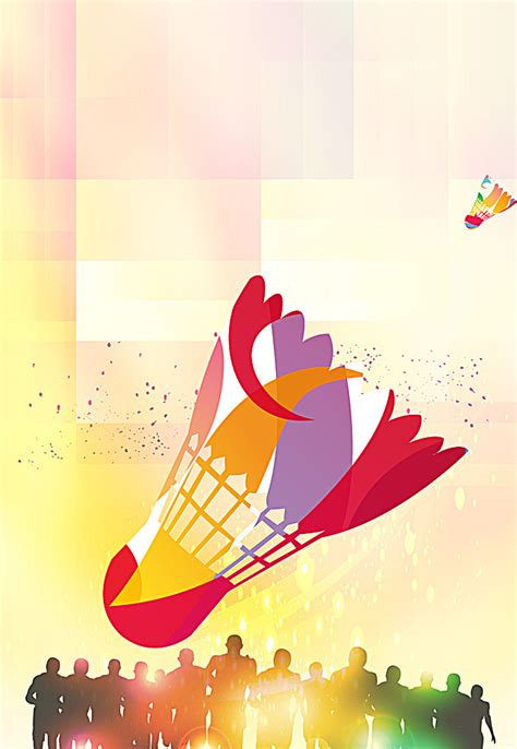 design banner badminton cool theme posters badminton badminton cool silhouette